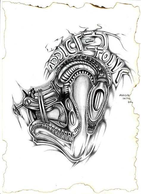 tattoo machine drawing alien tattoo machine by zainea on deviantart