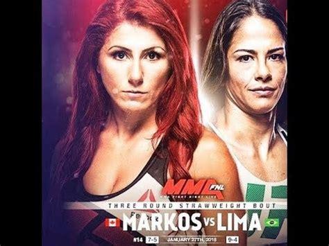randa markos vs juliana lima set what they need to do to