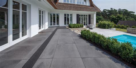 terrassenplatten anthrazit produkte metten steindesign