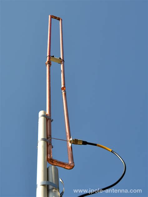 new product two meter a way slim jim antenna kb9vbr j pole antennas