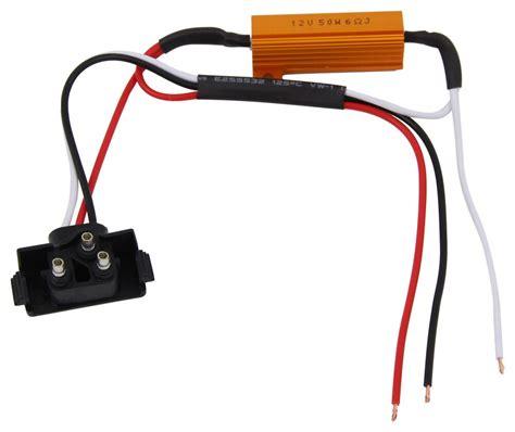 optronics load resistor for led lights male pl 3 plug