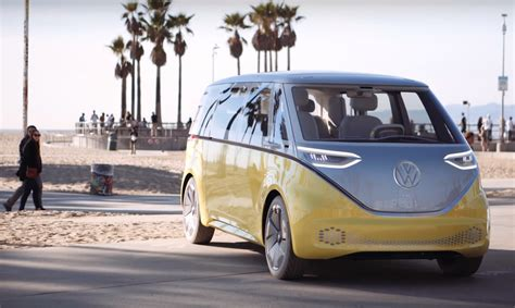 volkswagen minibus electric vw s re imagined electric microbus an early test drive