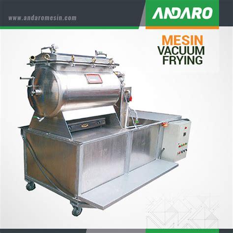 Mesin Vacuum jual mesin vacuum frying harga alat pembuat keripik buah