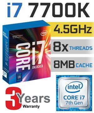 Intel I7 7700k Box 4 2ghz Kabylake cpu processore intel i7 7700k box 4 2ghz socket