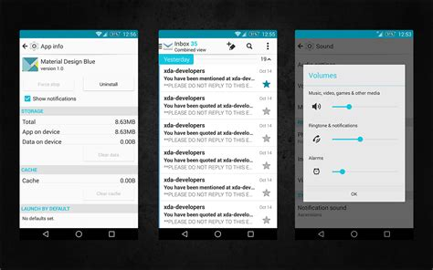 material design app xda themes kk material design project 10 themes
