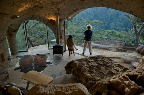 lionel buckett s cave house in berambing in the blue