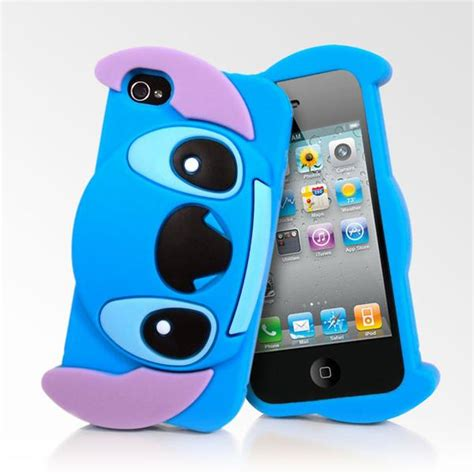 silicone 3d stitch iphone 4 4s cases lollimobile
