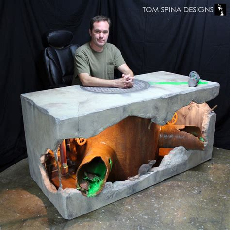 Mutant Turtles Desk by You Will Never Get Any Work Done On This Amazingly Distracting Turtles Origins Desk