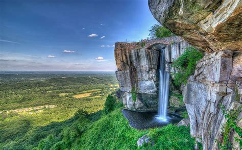 Lookout Mountain Attractions Up Top Rock City Gardens Tennessee