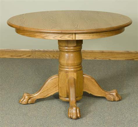round table walnut creek 42 quot round pedestal table with claw feet walnut creek