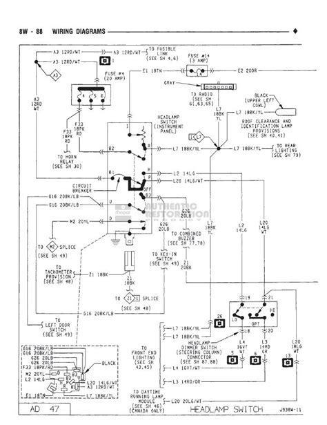 93 dodge ram wiring diagram wiring diagram with description