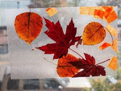 Aplikasi Daun Kering Pressed Leaf fall crafts for toddlers things to make and do crafts