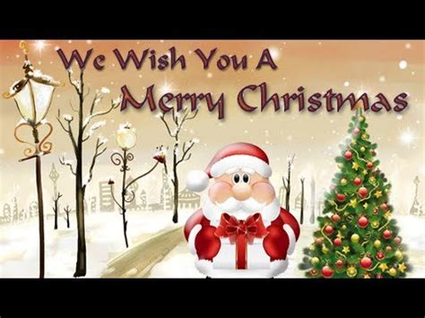 immotional christmast song we wish you a merry carols songs for vidoemo