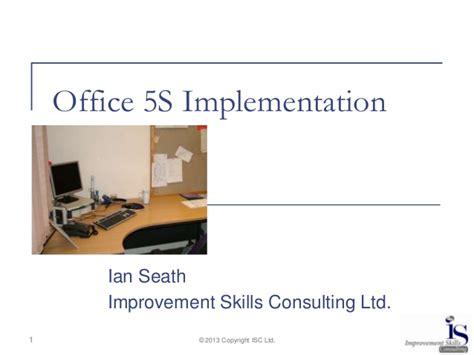 Office 5s Implementation Workshop 5s Presentations