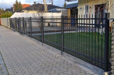 Eisenzaun Selber Bauen by Unser Zaun Aus Polen G 252 Nstige Kosten Gute Erfahrungen