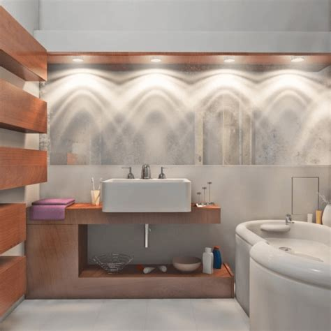 unique bathroom lighting ideas for rule breakers