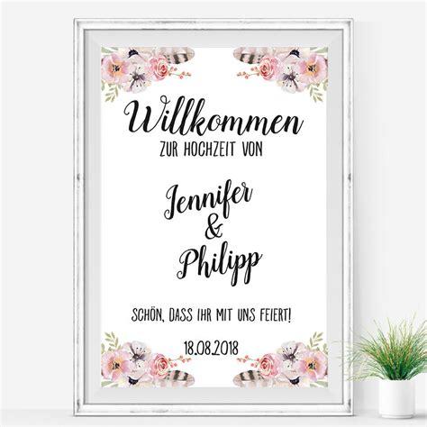 Hochzeit Leinwand by Hochzeit Willkommen Schild Boho Poster Leinwand