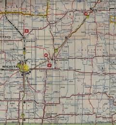 oklahoma border map kansas map of i 35 between emporia and oklahoma