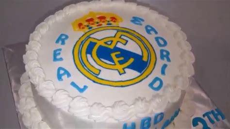 Kue Ultah Real Madrid real madrid cake ideas simple