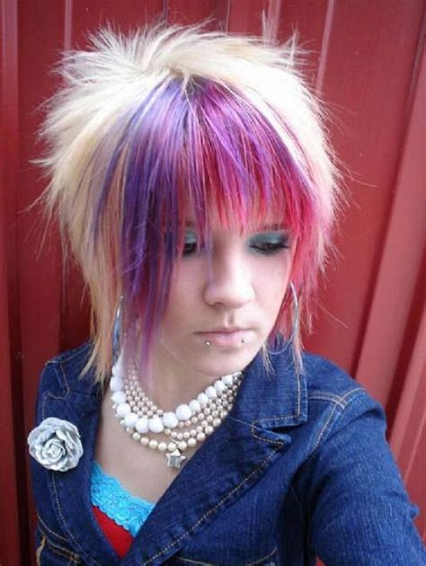 emo hairstyles and colors short scene hairstyles for girls emo hairstyles for