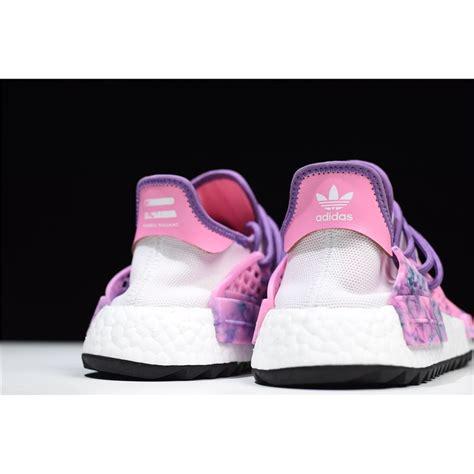 pharrell  adidas nmd hu trail holi pink glowflash