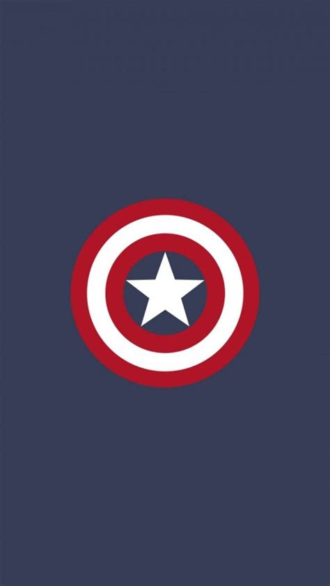 wallpaper iphone 5 captain america captain america flat logo iphone 5 wallpaper iphone