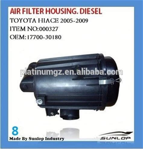 Original Toyota Filter Udara Hiace 2005 toyota hiace air filter housing diesel 17700 30180 buy
