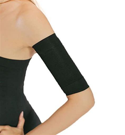 Insta Slim Compression Detox Thigh Wraps by Slimming Arm Shapewear Slimmer Biege Color