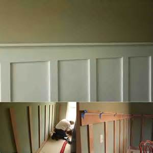 wainscoting kits diy easy diy board and batten wainscoting on a budget do it