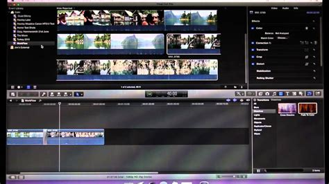 tutorial video final cut pro x final cut pro x workflow tutorial youtube