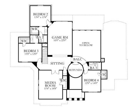 80 sq ft mediterranean style house plan 5 beds 4 baths 4308 sq ft