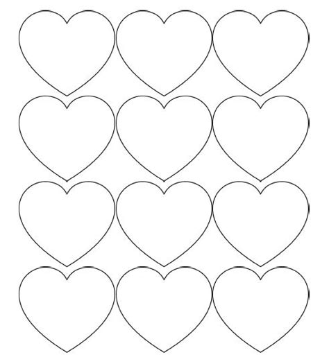 free printable heart banner 25 best ideas about printable hearts on pinterest