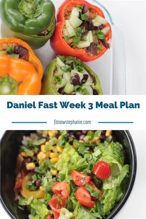 Daniel Diet Detox Recipes by Daniel Fast Week 3 Meal Plan And Shopping List Fit Now