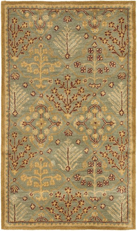 blue and gold rug safavieh antiquity at613a light blue and gold area rug free shipping