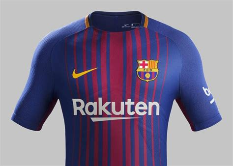 Jersey Barcelona Home 1113 barcelona home jersey for 2017 18 features updated interpretation of blaugrana stripes world