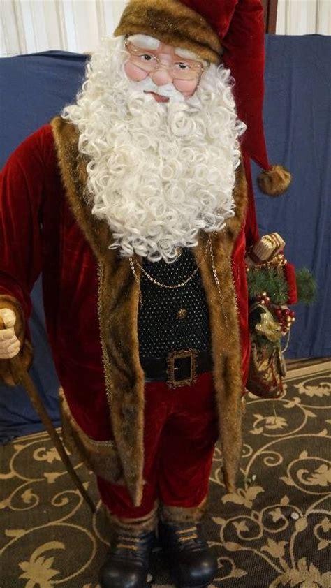 life sized santa claus personal property estate