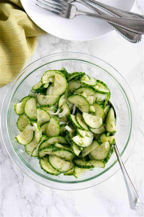 cucumber recipe easy cucumber salad