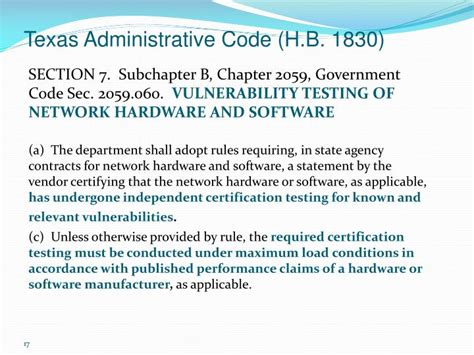 government code section ppt the potential impact of recent changes to the texas