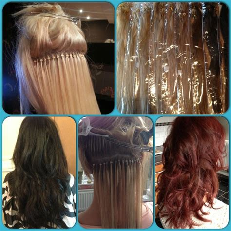 hairstyles for micro ring hair extensions 20 best hair extensions logos images on pinterest hair
