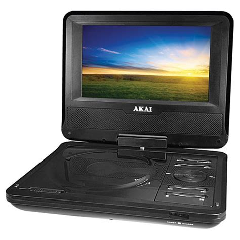 best dvd player akai 7 quot portable dvd player akpdvd701 black