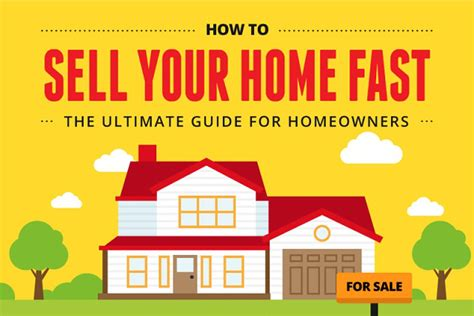 the ultimate guide on how to sell your home fast infographic