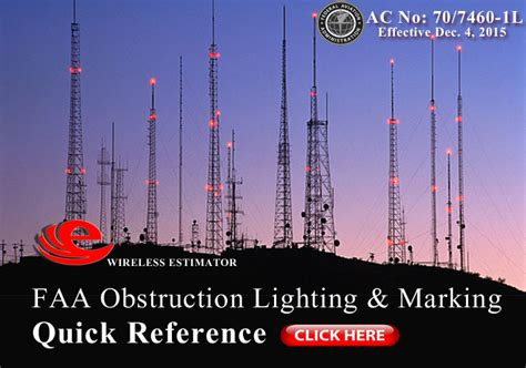 faa tower lighting requirements faa tower lighting standard will cut costs and cut