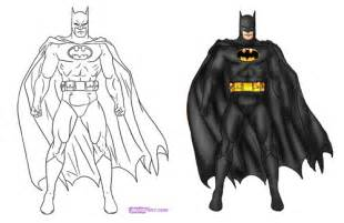 How To Draw Batman How To Draw A Bat Step 9png Apps Directories