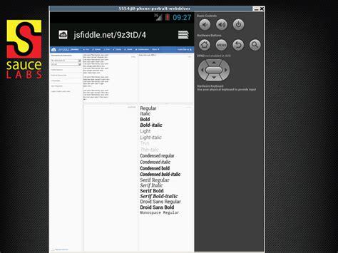 android default font html default font set on android stack overflow
