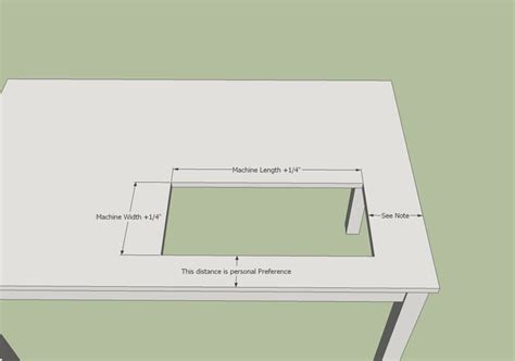 how to make a sewing table 17 best ideas about sewing table on project