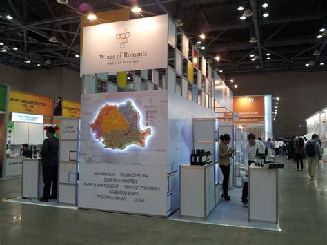 Square Meters romanian pavilion at international fair food expo seoul