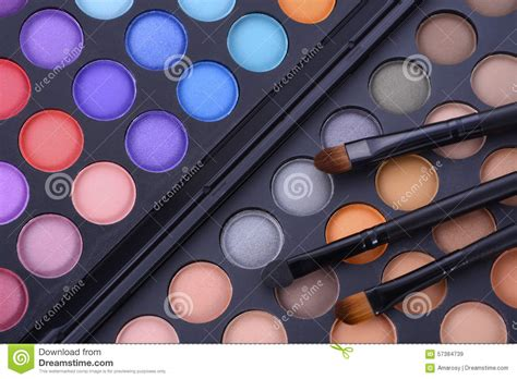 Makeover Eye Shadow Palette makeup eye shadow palette stock image image of makeover