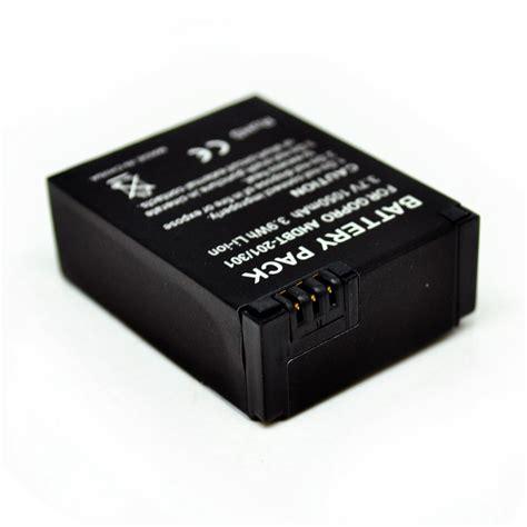 Battery Baterai Batre Replacement 1050mah Gopro Hd 3 Ahdbt 30120 battery replacement 1050mah for gopro hd 3 ahdbt 301 201 black jakartanotebook