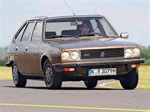 Renault 30 Tx Vier Limousinen Der 70er Im Vergleich Bmw Ford Renault