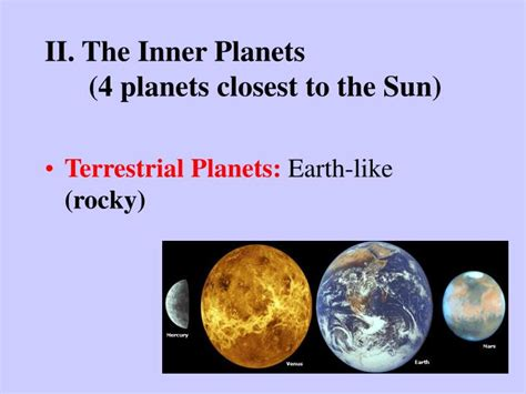 Closet Planet To The Sun by Ppt Our Solar System Powerpoint Presentation Id 6306933
